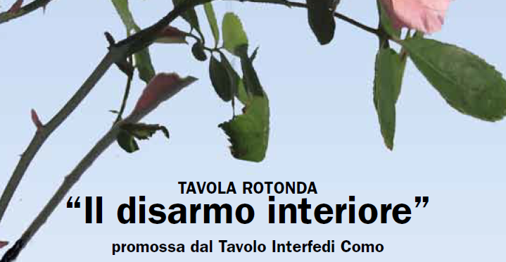 Il disarmo interiore